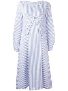 полосатое платье миди J.W.Anderson