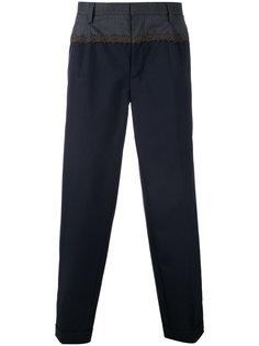 брюки с вышивкой Kolor