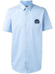 рубашка с нашивкой No Words Fendi