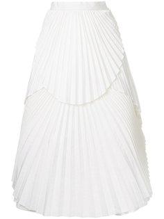 плиссированная юбка миди Eavis & Brown