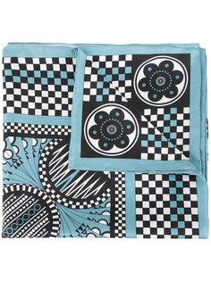 шарф со смешанным принтом  Holly Fulton