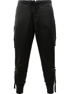 side zip lounge pants Greg Lauren