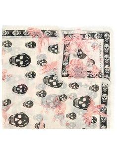 платок с узором Alexander McQueen