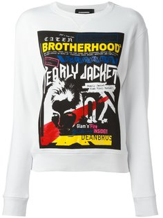 толстовка Caten Brotherhood Dsquared2