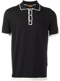 футболка-поло с контрастной окантовкой Tods Tod`S