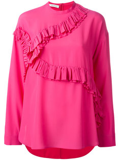 блузка с рюшами Cédric Charlier