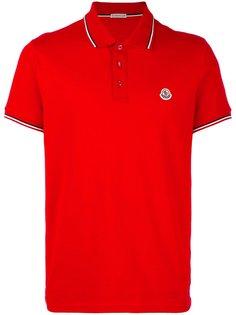 футболка-поло с короткими рукавами Moncler