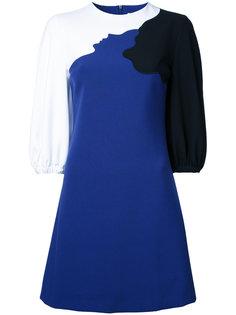 платье дизайна колор-блок Vivetta