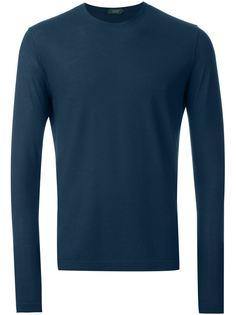 футболка с длинными рукавами  Zanone