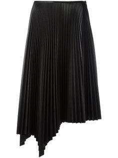 асимметричная плиссированная юбка Cédric Charlier