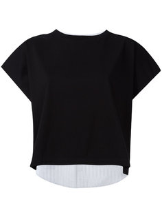 contrasting back T-shirt Mm6 Maison Margiela