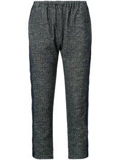 elasticated waist cropped trousers Engineered Garments