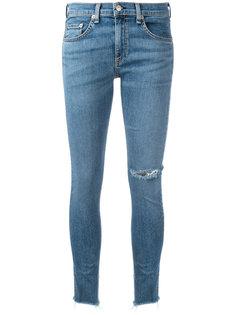 frayed hem skinny jeans Rag & Bone /Jean