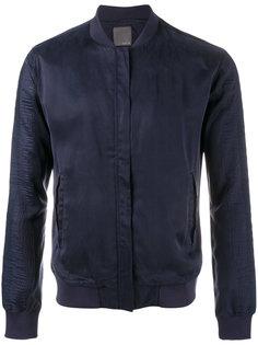 куртка-бомбер на молнии Lot78