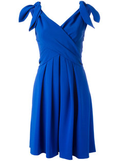 платье с запахом спереди Moschino
