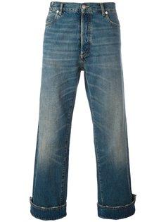 укороченные джинсы с подвернутыми манжетами Maison Margiela