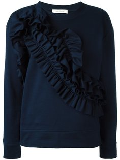 ruffled panel sweatshirt Cédric Charlier