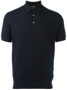футболка-поло плетеной вязки Tods Tod`S