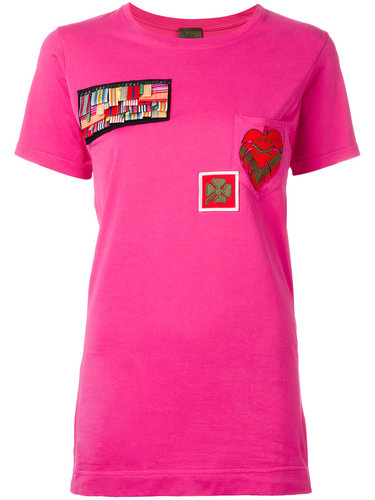 multipatch T-shirt  Mr & Mrs Italy