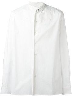 strap detail shirt Raf Simons