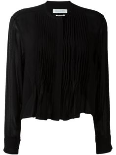 рубашка с плиссированным нагрудником Isabel Marant Étoile