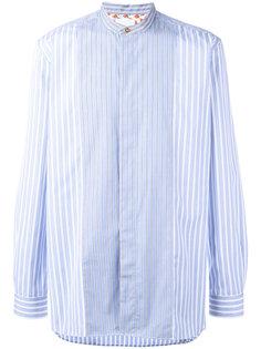 полосатая рубашка с воротником-стойкой Paul Smith