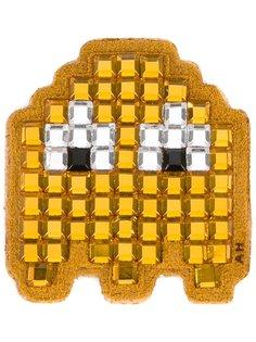 Pac-Man Ghost diamante sticker Anya Hindmarch