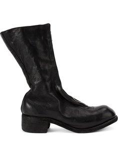 block heel boots Guidi