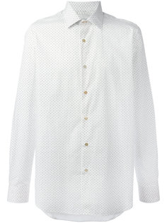 рубашка с узором в горох Paul Smith