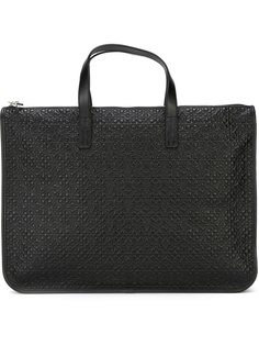 сумка-тоут с тисненым логотипом  Loewe