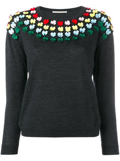 bow embellished knit Marco De Vincenzo