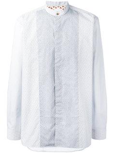 рубашка с воротником-стойкой Paul Smith