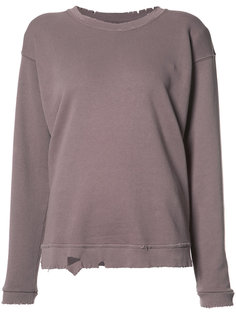 distressed sweatshirt  Rta