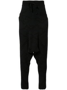 drop crotch pants  Baja East