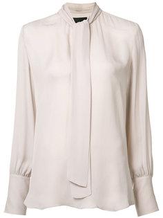 tie front blouse Nili Lotan