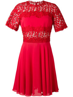 расклешенное платье  Giambattista Valli