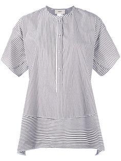 collarless shift striped shirt Ports 1961