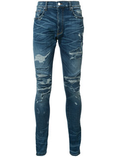 ripped supper skinny jeans Amiri