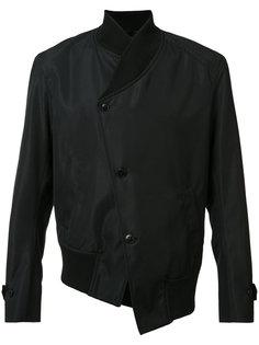 asymmetric bomber jacket Ann Demeulemeester Grise
