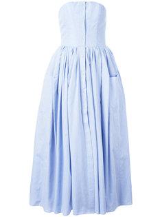 платье с юбкой в складку Natasha Zinko