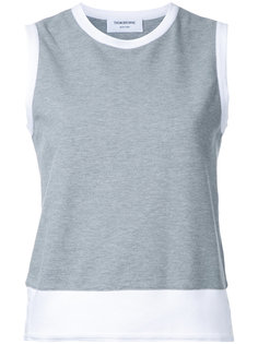 classic shell top Thom Browne