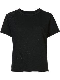 destroyed T-shirt Amiri