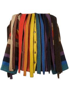 куртка из разноцветных лоскутков Jc De Castelbajac Vintage