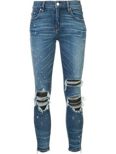 ripped super skinny jeans Amiri