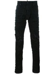 рваные джинсы Cool Guy в стиле пэчворк Dsquared2