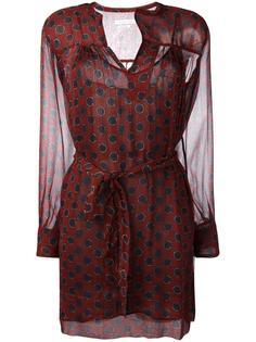 платье с запахом и узором в горох Isabel Marant Étoile