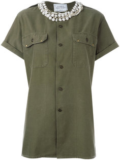 stoned collar shirt  Forte Couture