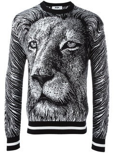 lion sweatshirt  MSGM