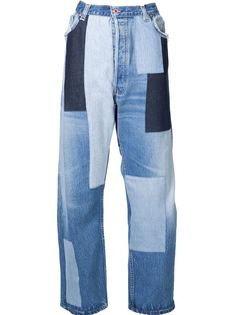 лоскутные джинсы  Off-White