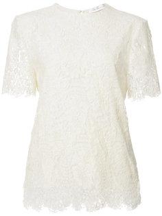 lace shortsleeved blouse Victoria Beckham